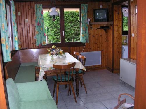 Le salon/salle à manger